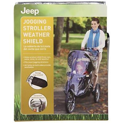 J is for Jeep Jogging Stroller Weather Shield New