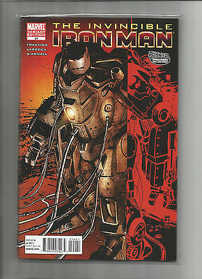 Invincible Iron Man #24 Variant (8.0) Marvel