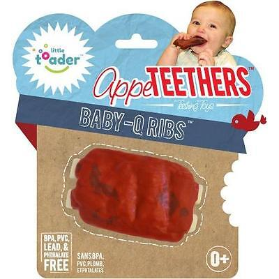 Teething Toys - BPA Free - Baby Q Ribs Appeteether New