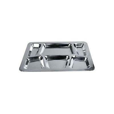 Winco 6-Compartment Mess Tray, Style B New