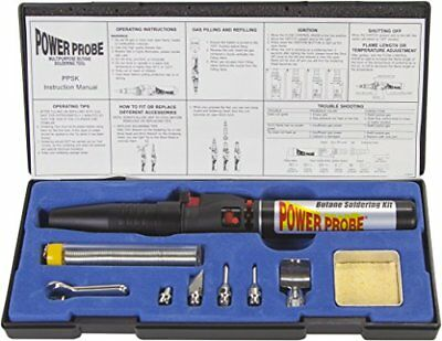 Power Probe PPSK Butane Soldering Kit New