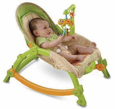 Fisher-Price Newborn-to-Toddler Portable Rocker New