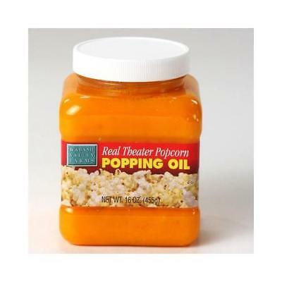Wabash Valley Farms Popping Oil - Real Theater - 15.25 oz. New