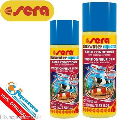 SERA * Blackwater Aquatan 250ml or 500ml WATER CONDITIONER * NEW * FREE DELIVERY