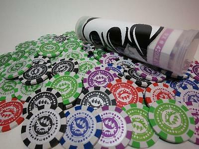 Claw Money $ Poker Chips 50 Chip Set Urban Art Toy By Tott Tool Of The Trade