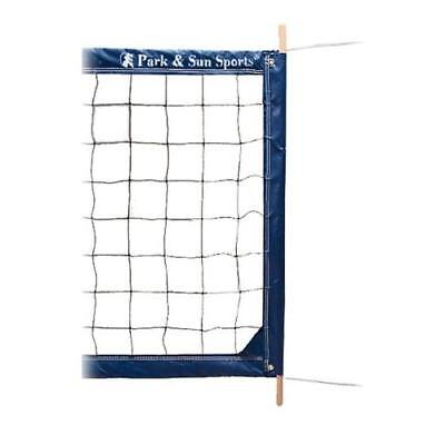 Park & Sun Sports Regulation Size Indoor/Outdoor Professional Volleyball Net