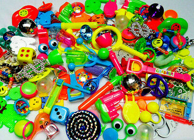 Bulk 100 pcs Party Pinata Toys Fillers Bags Lucky Birthday Favors Gift Prizes