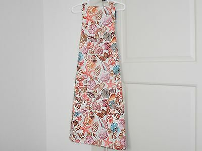 Gigantic Sale Of100% Cotton Adult  Apron W/ Pocket.  The Seagull Beach Shells