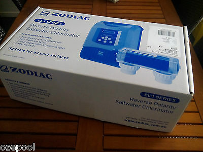 ZODIAC 25 gms/hr pool chlorinator, NEW, Self Clean, new stock, latest model,100%