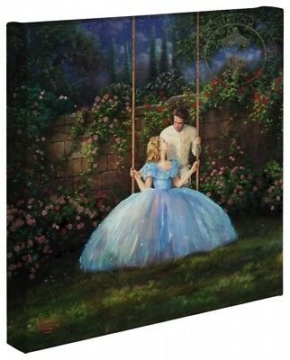 Thomas Kinkade Studios Disney Dreams Come True 14 x 14 Gallery Wrapped Canvas
