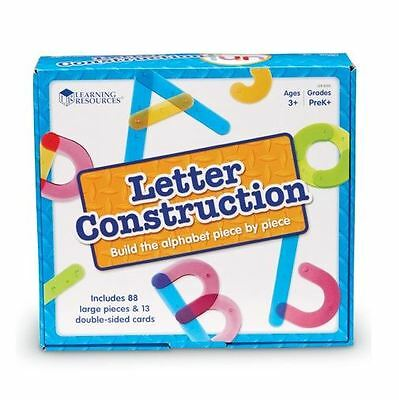Alphabet Letter Construction Activity Set Prewriting Building Tool Special Needs