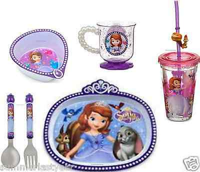 Sofia The First 6 Piece Meal Time Set ~Disney Store~ Free Shipping