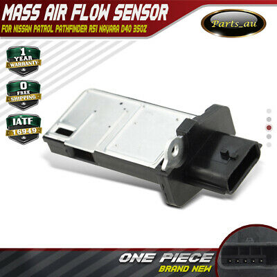 Mass Air Flow MAF Sensor for Nissan Patrol Pathfinder R51 NP300 Navara D40 350Z
