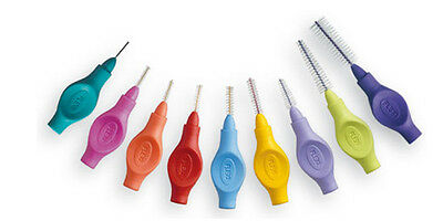 Tandex Flexi Interdental Brush Range 0.35mm to 1.20mm - 6 in a Pack