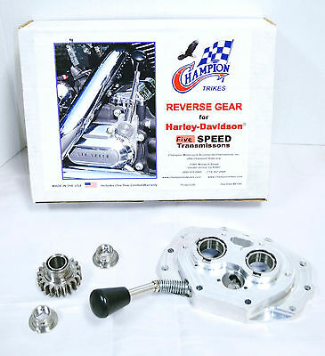 Champion Trikes Reverse Gear for Harley-Davidson Five Speed Transmissions #RGK-1