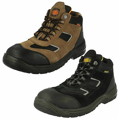 Wholesale Mens Safety Work Boots 10 Pairs Sizes 7-11  A3047
