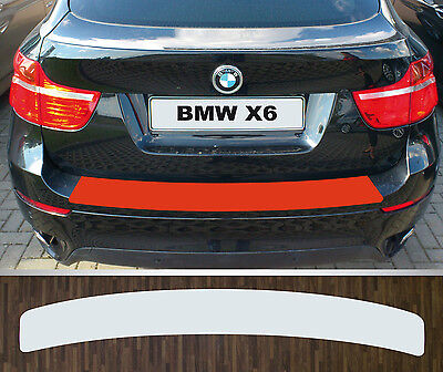 clear protective foil bumper protection transparent BMW X6 (E71), Year 08-12