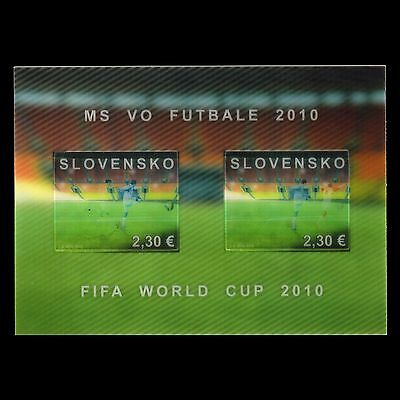 Slovakia 2010 -  Football World Cup - South Africa 2010 Sports 3D - MNH