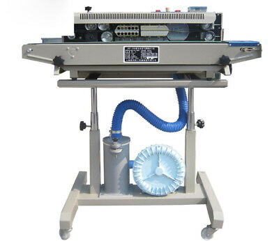 automatic Continuous plastic/Film Sealing machine for food,cosmetic,Potato chips