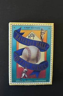 1992 Baseball Hall of Fame Heroes postage cards (Ty Cobb, Babe Ruth)