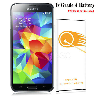 5400mAh Extended Slim Battery For Samsung Galaxy S5 i9600 SM-G900V Android Phone