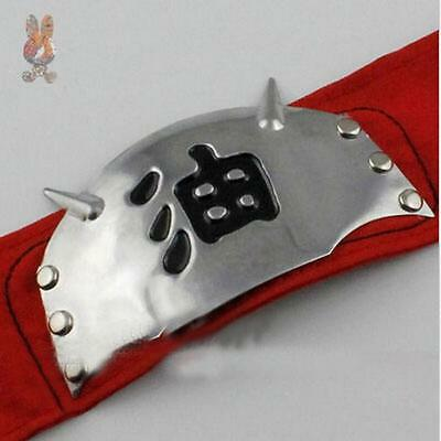 Hot New Naruto Jiraiya Headband Cosplay Headband Gama Sennin Japan Anime Red I