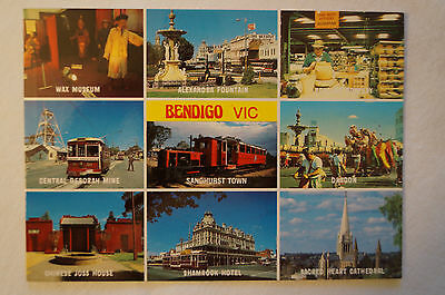Bendigo - Victoria - Australia - Collectable - Postcard