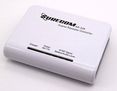 Surecom SR-328 Radio Duplex Repeater Controller W/ Kenwood china cable