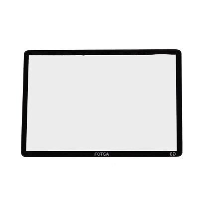 Fotga Optical Hard Glass LCD Screen Protector Guard for Canon EOS 6D DSLR Camera
