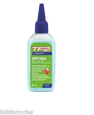 WELDTITE TF2 ULTRA DRY WAX 100ml CYCLE BICYCLE CHAIN LUBE