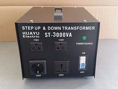 Voltage Converter Transformer Step Up / Down 3000W Ce 110V To 220V & 220 To 110V