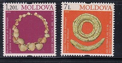 Moldova 2010 Mi.#691-92 MUSEUM of ARCHAEOLOGY set 2 stamps MNH Cat.Euro 5.50