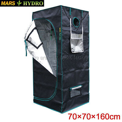 70x70x160cm Mars Hydro 100% Reflective Hydroponic Indoor Grow Tent Room Box1680D