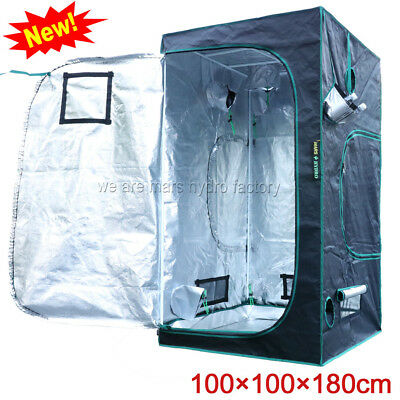 Mars Hydro 100x100x180cm Indoor Grow Tent Room Box 100%Reflective NonToxic Mylar