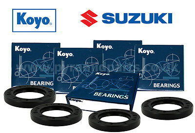 Suzuki GSXR1000 2001-2009 Complete Front & Rear Wheel bearing kit Genuine KOYO