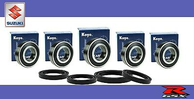 Suzuki GSX1400 Complete Front & Rear Wheel bearing kit Genuine KOYO 02-07