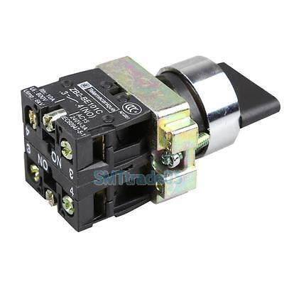 10A 3 Position 2NO Maintained Toggle Select Selector Switch XB2-BD33C Spare Part