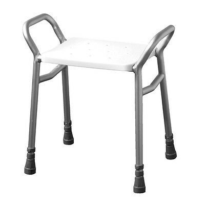 Days Lightweight Height Adjustable Shower Stool Chair Bench Disability Care Aid