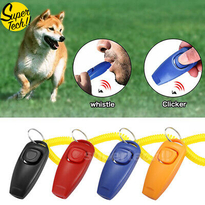 4x DOG TRAINING OBEDIENCE WHISTLE ADJUSTABLE PITCH PET PUPPY TRAIN Stop Barking