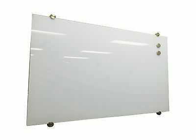 Glass White Board Magnetic WHITE 1200x600mm