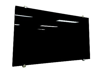 Magnetic Glass White Board 900x600 BLACK