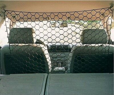 Pet Guard Net Car Safety Dog Barrier Mesh Protect Universal Storage 100x100cm