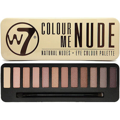 W7 Maquillage Eye Shadow Palette Naked Nude Naturel Couleurs - In The Nude