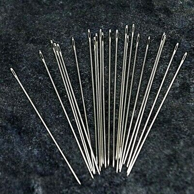 SIZE  11 Beading needles pk 25 Bead sewing craft needle