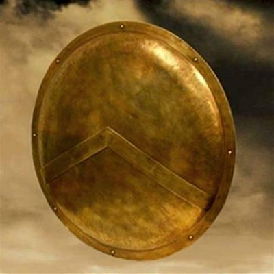 Spartan Shield 300 Movie Frank Miller Greek Collectible with COA