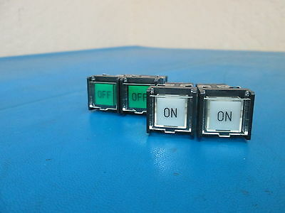 Lot of 4 Omron A3SA-707 Push Button Safety Switch 28V 1.2W