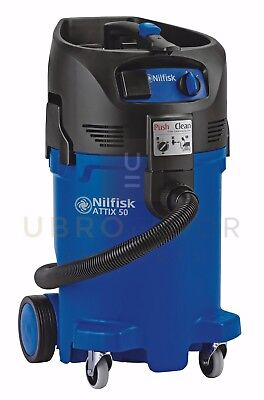 Nilfisk Attix 50, 12 gallon vacuum w/10' hose and tool kit- replace Clarke CAV12