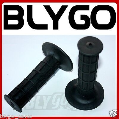 BLACK 22mm Handle Bar Hand Grips 50cc 110cc 125cc 150cc 250cc Quad Dirt Bike ATV