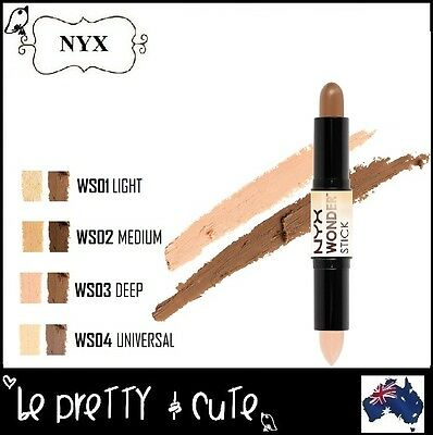 NYX WONDER STICK DUAL ENDED HIGHLIGHTING AND CONTOUR #WS Concealer Bronzer AUS