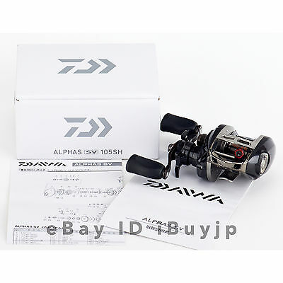 *NEW* Daiwa 15 Alphas SV 105SH Right Hand Saltwater Baitcasting Reel 960885